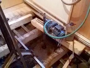 Устройство скважины в помещении