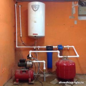 Устройство системы водоснабжения с использованием оборудования заказчика. Ногинский район, Московская область