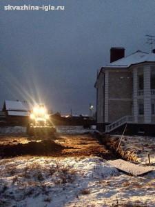 Бурение скважин на воду в Дмитровском районе в зимний период