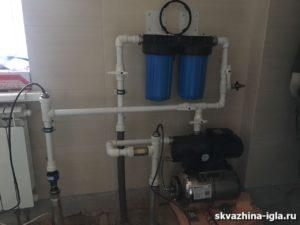 ввод воды в дом Одинцово
