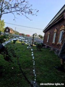 Бурение абиссинского колодца в деревне Воре-Богородское Щелковского района