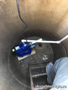 Абиссинская скважина с кессоном - процесс проведения работ