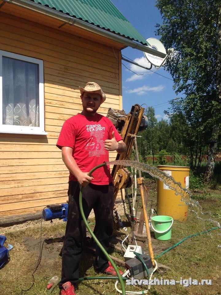 Бурение абиссинских скважин в Егорьевском районе
