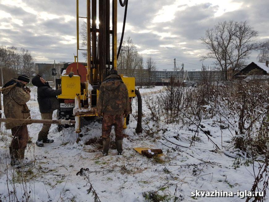 Бурение скважин на воду Щелковский район